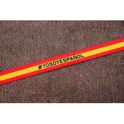 Pulsera bandera de España...